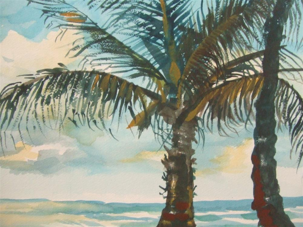 """Beach Day"" original fine art by Ellen LaVaccare"
