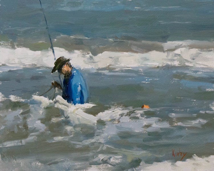 """Blue Water Adventures"" original fine art by Randall Cogburn"