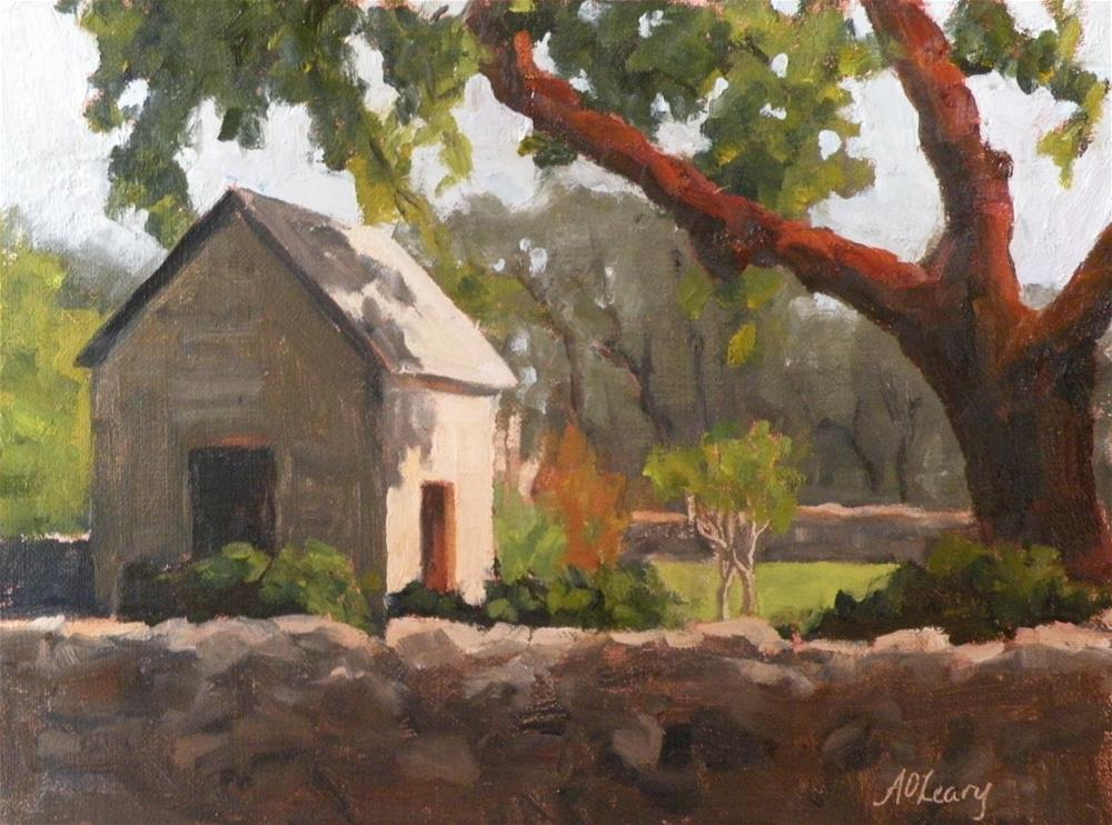 """Rockwall Ranch"" original fine art by Alice O'Leary"