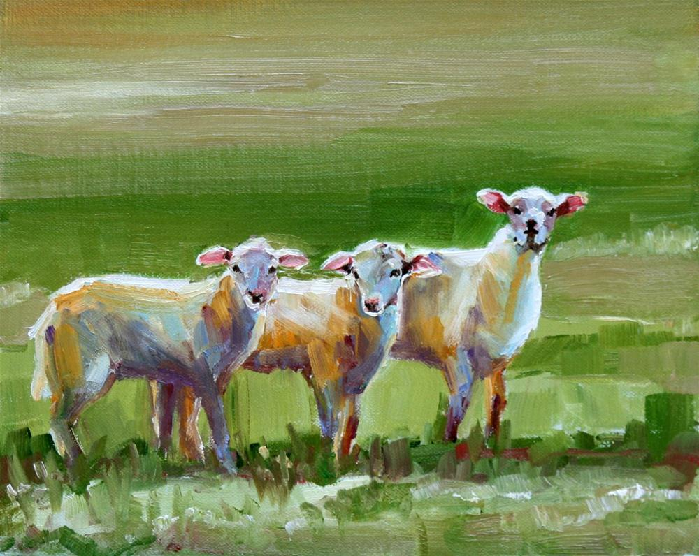 """""""trifold"""" original fine art by Carol Carmichael"""