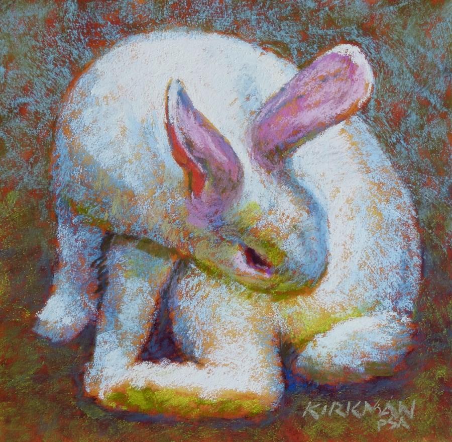 """Day 7 - Blanche"" original fine art by Rita Kirkman"