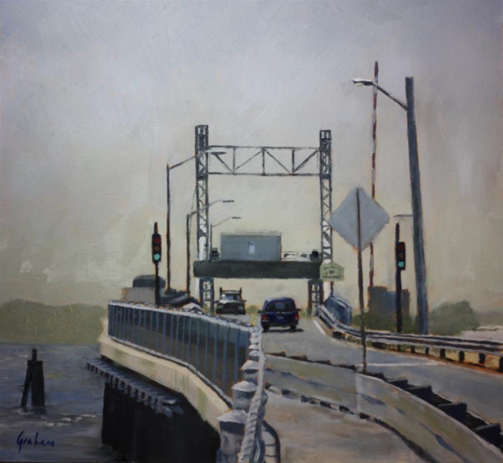 """Entering Tisbury"" original fine art by Graham Townsend"