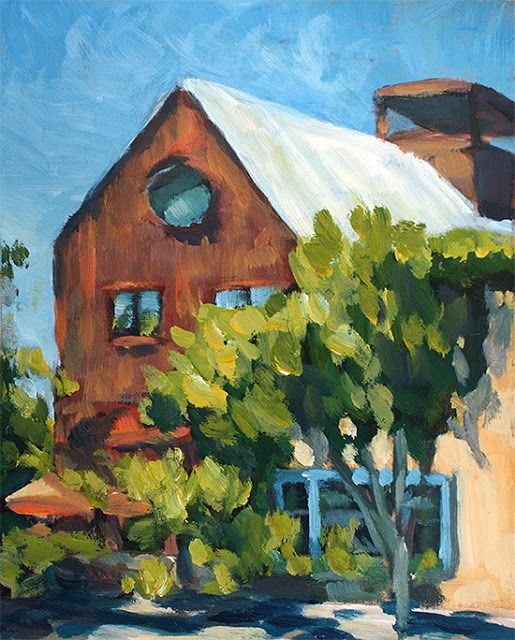 """Barn Diva"" original fine art by J. Farnsworth"