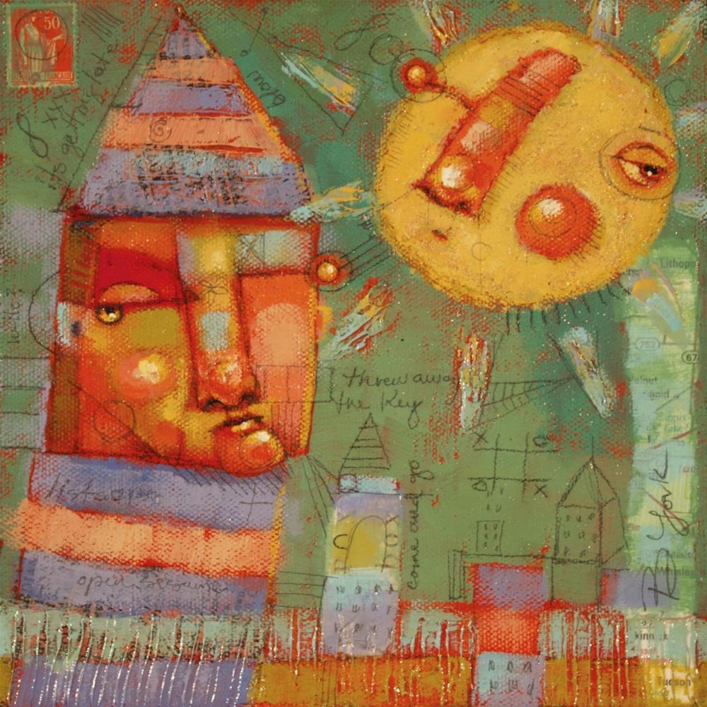 """Keeper Of The Keys"" original fine art by Brenda York"