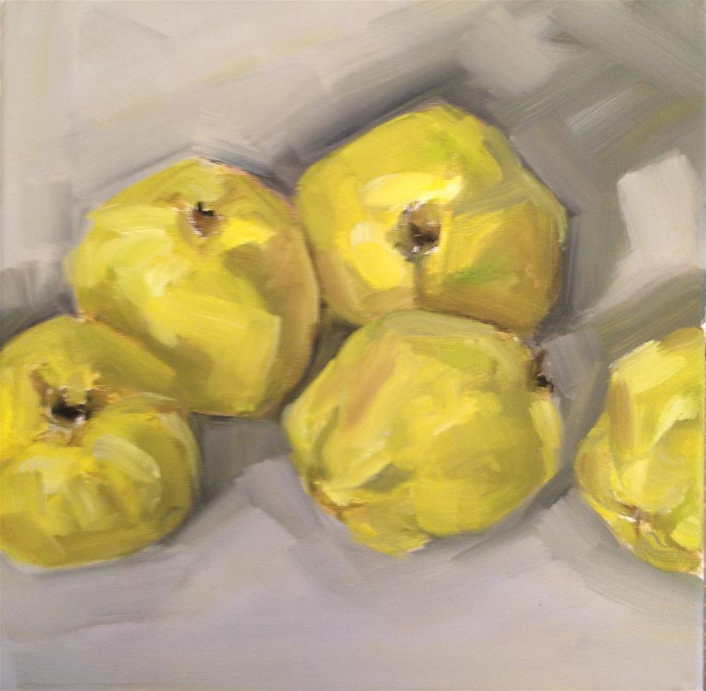 """Quince"" original fine art by Kylie Loomis"