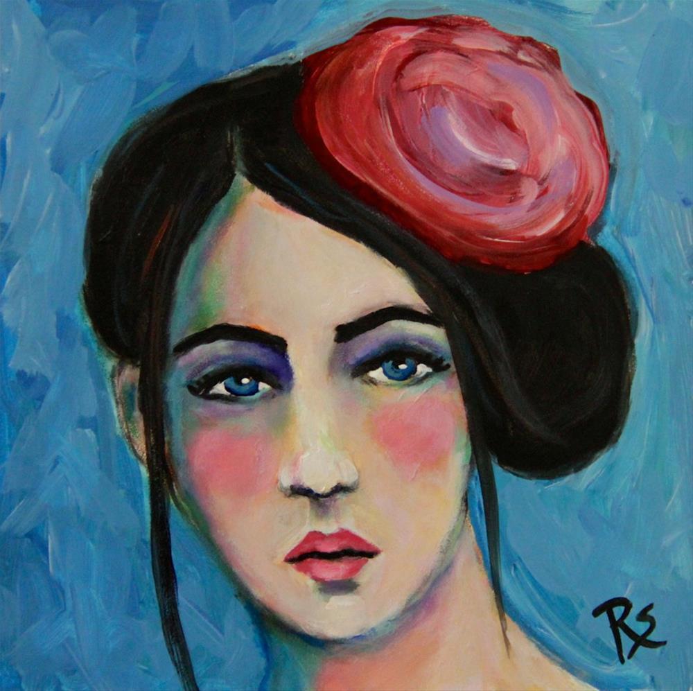 """Theodora"" original fine art by Roberta Schmidt"