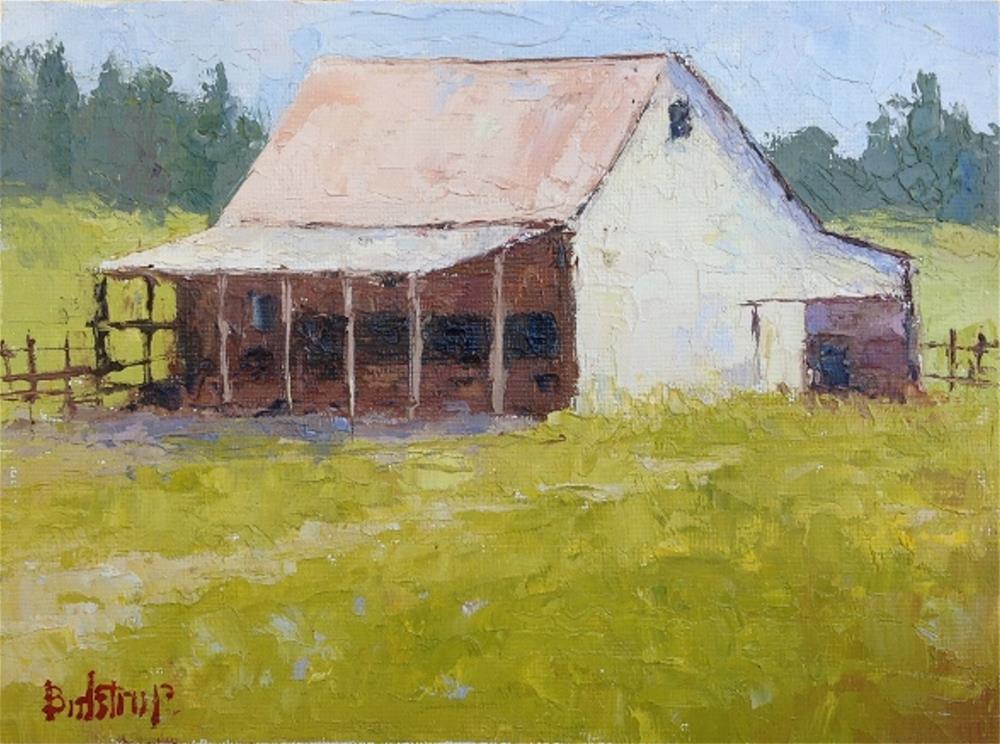 """Sonoma Barn"" original fine art by Mark Bidstrup"