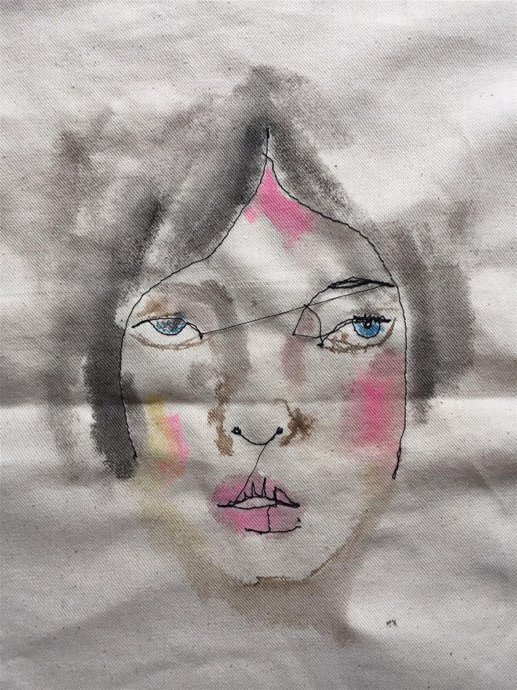 """""""239FM Never Mind the Others"""" original fine art by Jenny Doh"""