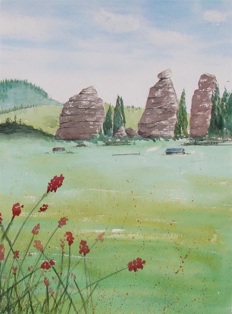 """""""Mongolie I"""" original fine art by Vito Cagnazzo"""
