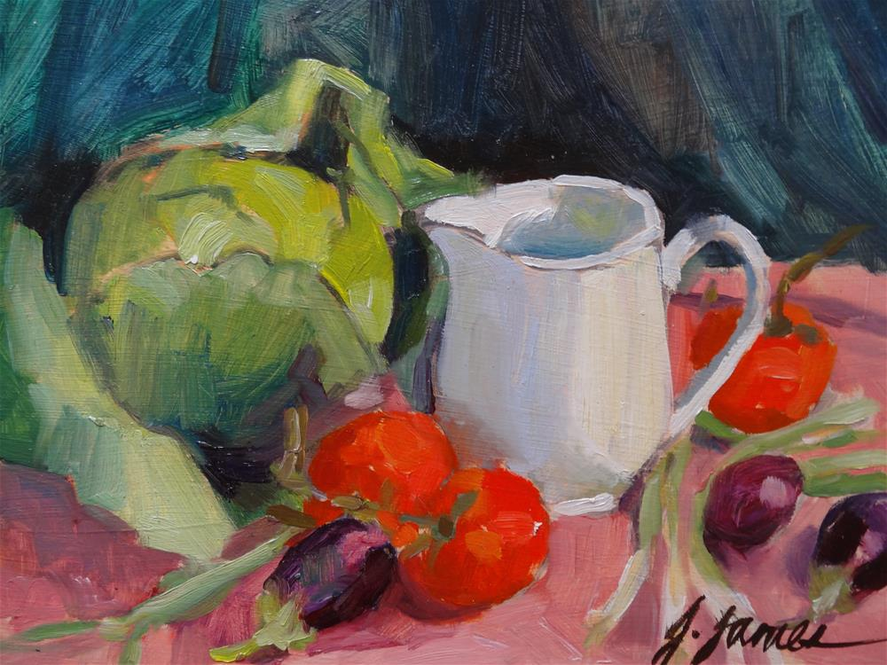 """Still Life"" original fine art by Jini James"