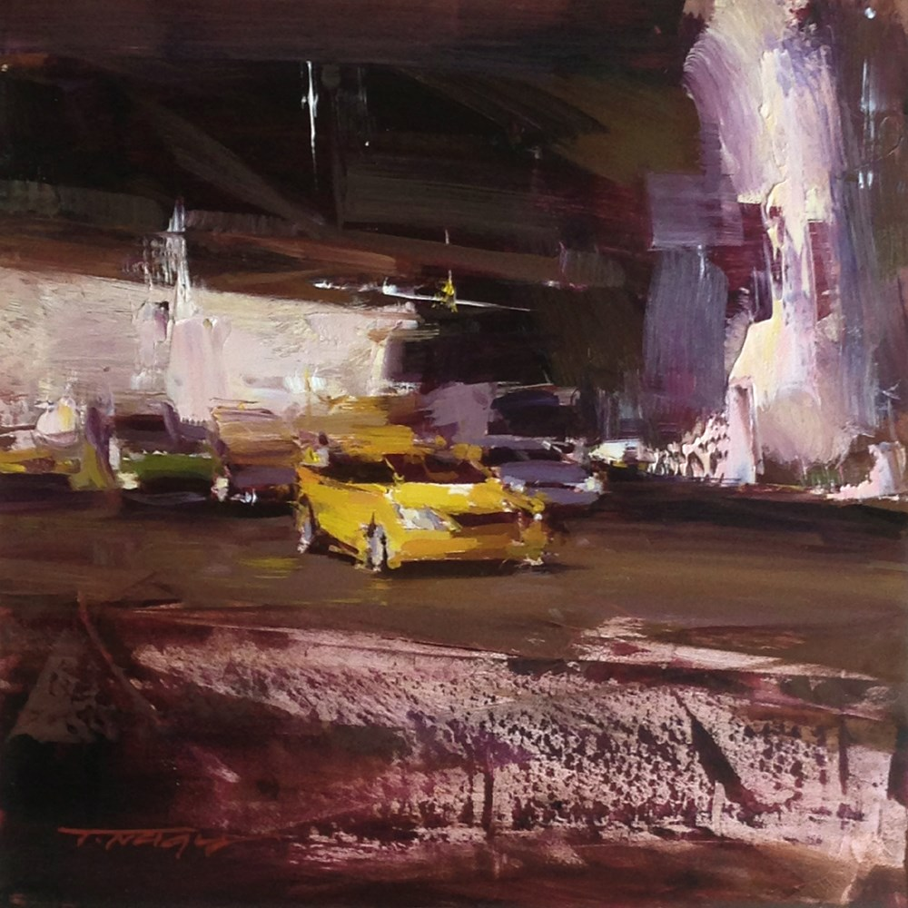"""Afternoon Sketch"" original fine art by Tibor Nagy"