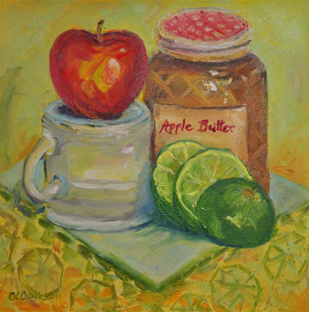 """Apple Butter"" original fine art by Catherine Crookston"