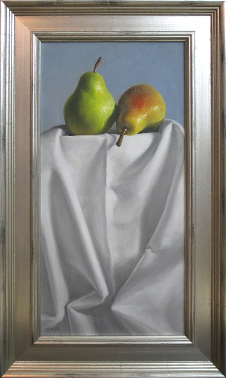 """Pair On Top"" original fine art by Michael Naples"
