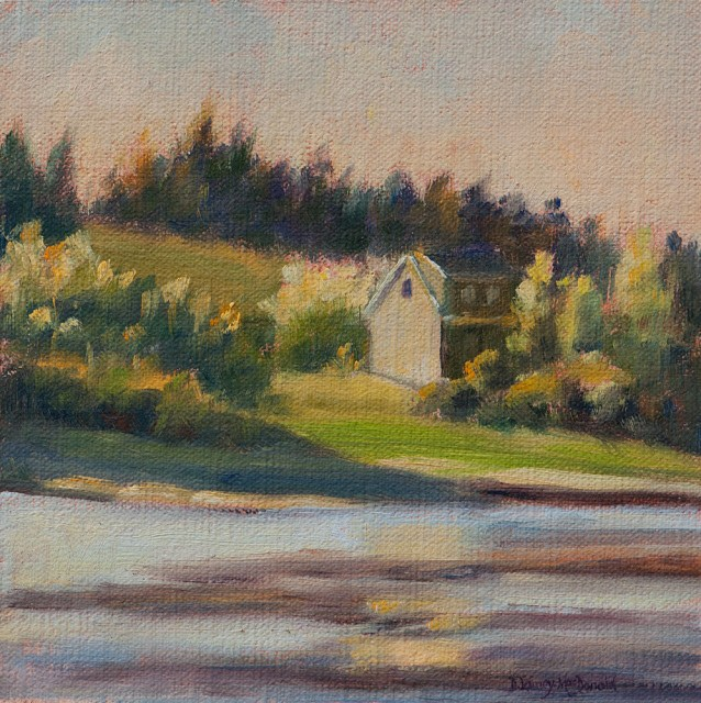 """""""Featured Painting #1 to Brighten Your Day!"""" original fine art by Debbie Lamey-Macdonald"""