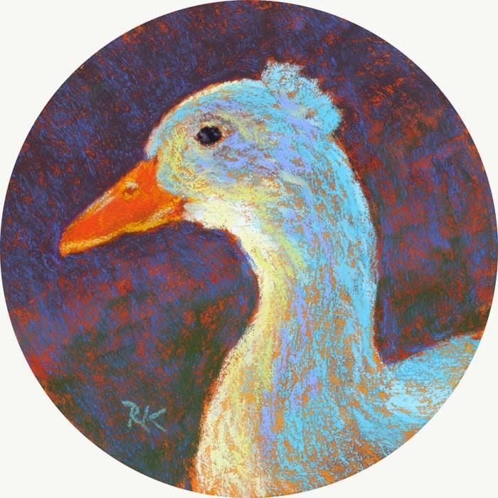 """""""Toulouse"""" original fine art by Rita Kirkman"""
