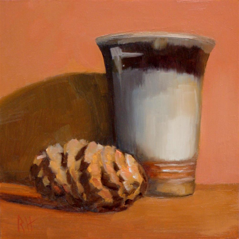 """Cone and Cup"" original fine art by Rebecca Helton"