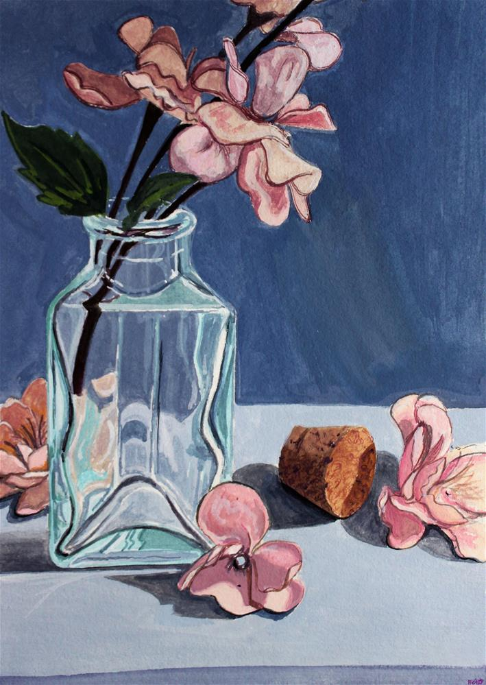 """Blossoms"" original fine art by Brandy Woodford"