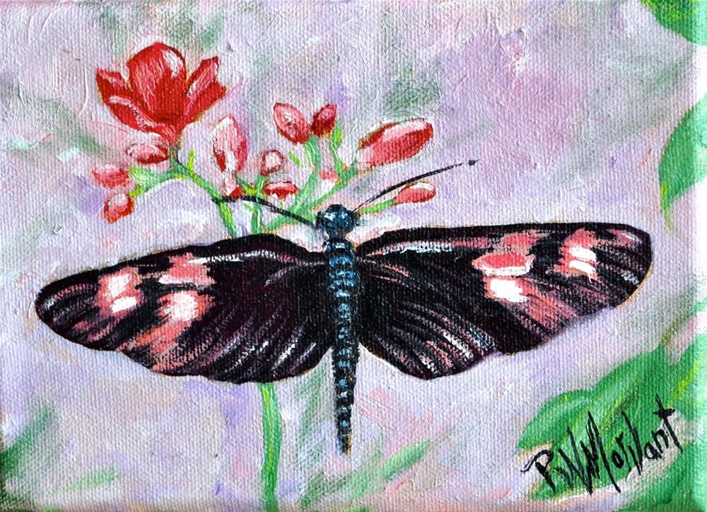 """A Little Something Sweet"" original fine art by Peggy W Morvant"