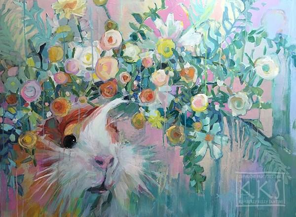 """Whistler"" original fine art by Kimberly Santini"