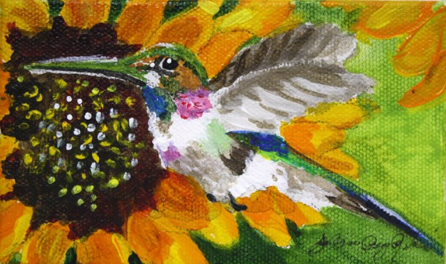 """Freedom"" original fine art by JoAnne Perez Robinson"