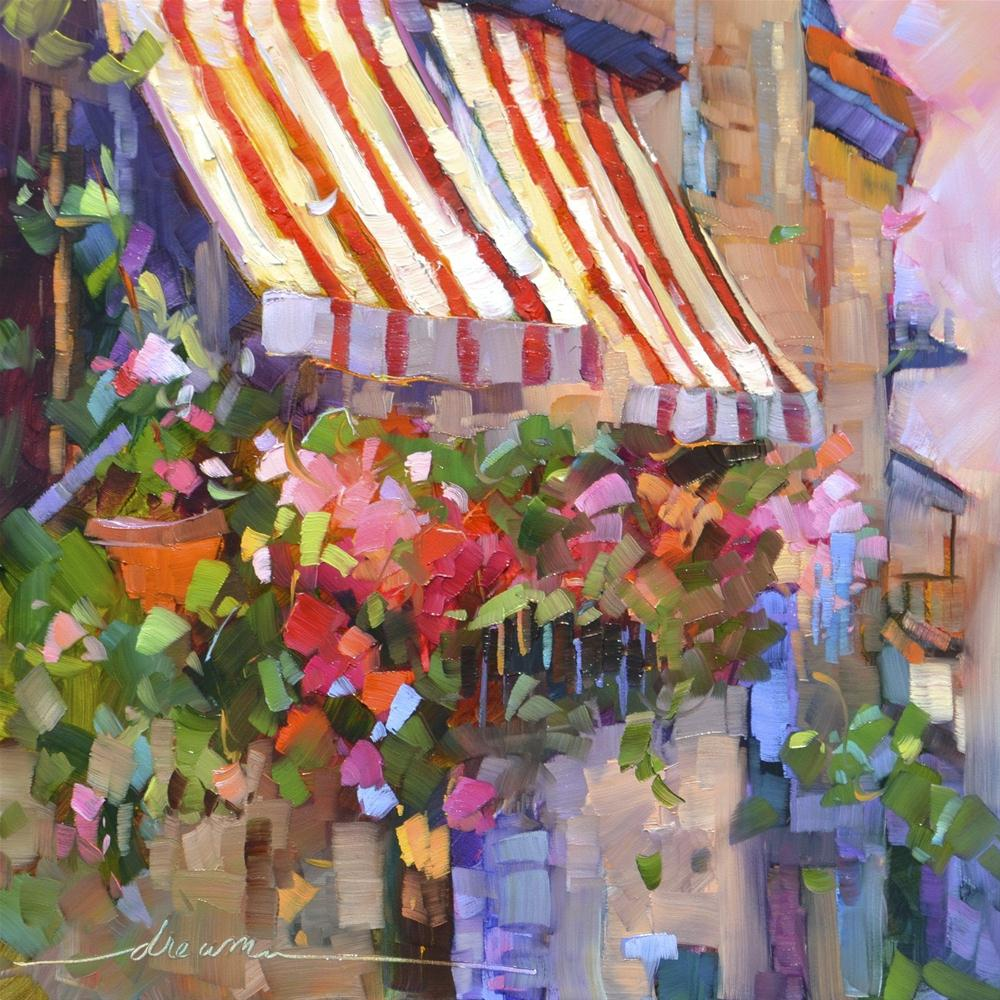 """Red, White and Scented""  SOLD original fine art by Dreama Tolle Perry"