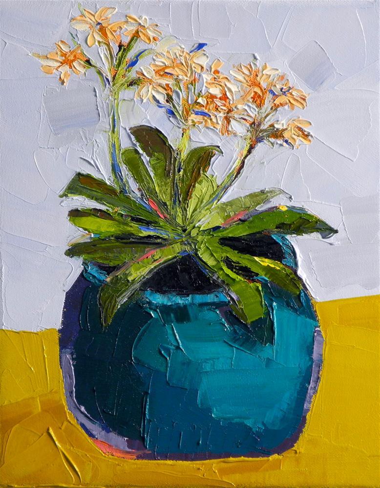 """""""A Bit of Orange"""" original fine art by Donna Walker"""
