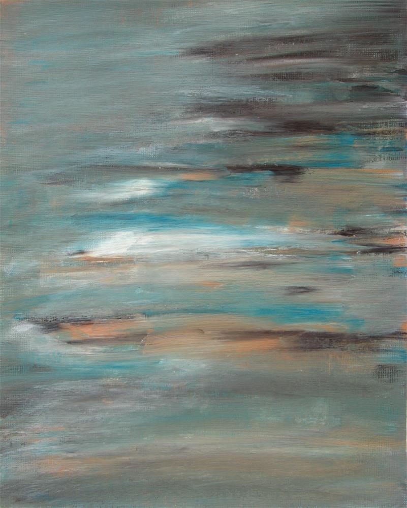 """Seashore"" original fine art by Alina Frent"