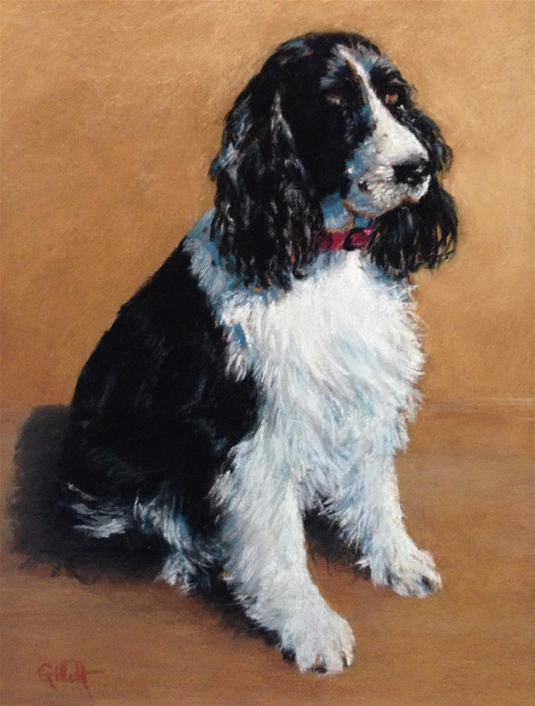 """My Pal Jack"" original fine art by Cindy Gillett"