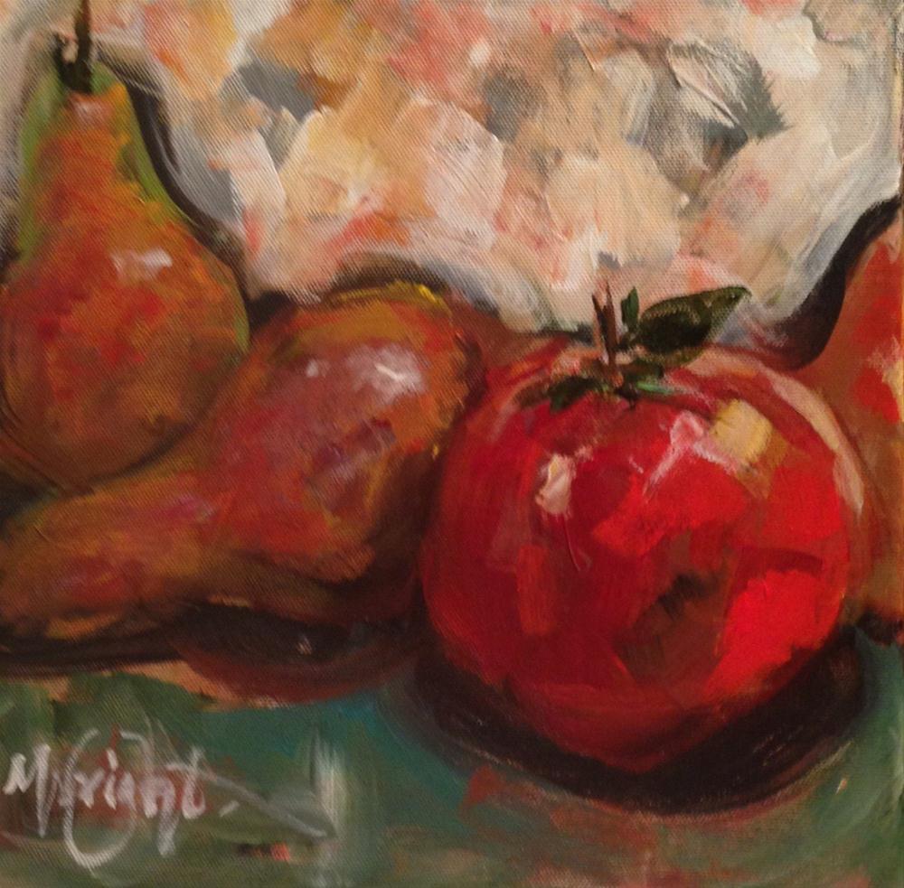 """""""Big Juicy"""" original fine art by Molly Wright"""