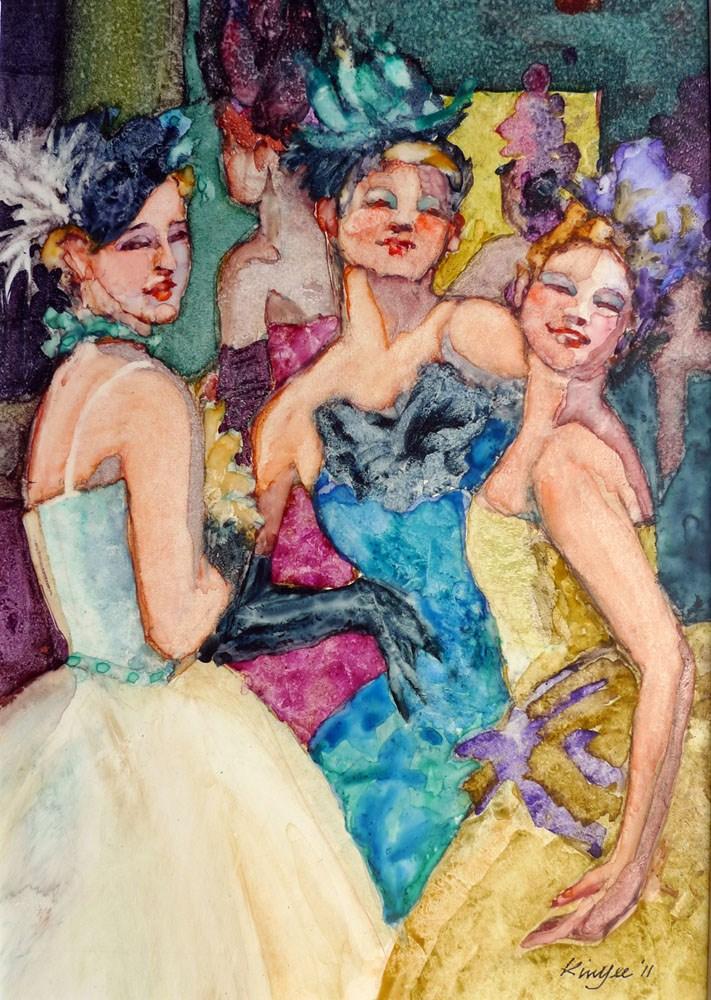"""'Promenade'"" original fine art by Myriam Kin-Yee"