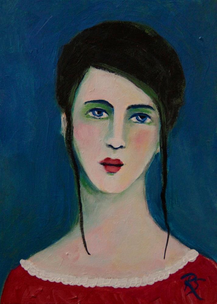 """Olivia"" original fine art by Roberta Schmidt"