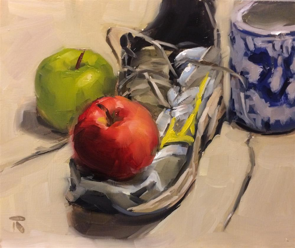 """Romantic Still Life"" original fine art by Thomas Ruckstuhl"