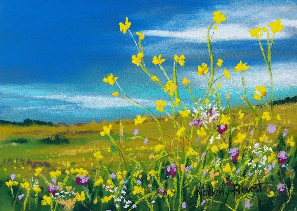 """Buttercups Abound"" original fine art by Kimberly Provost"