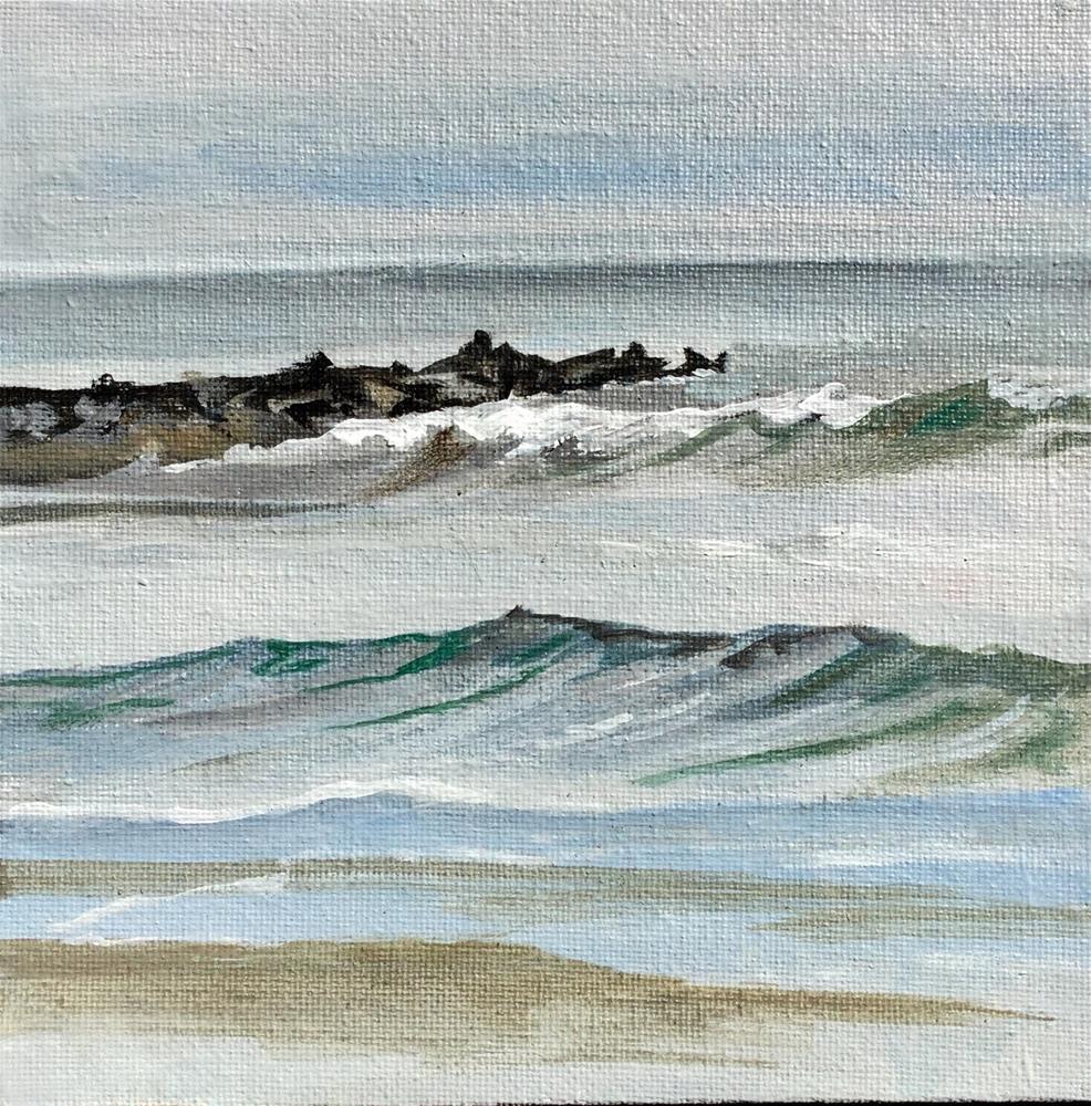 """""""Ocean City VII"""" original fine art by Lauren Kuhn"""