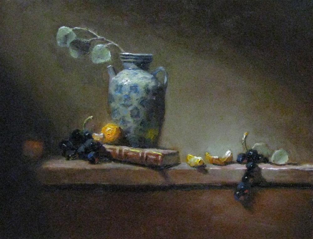"""Northern Light"" original fine art by tom dawson"