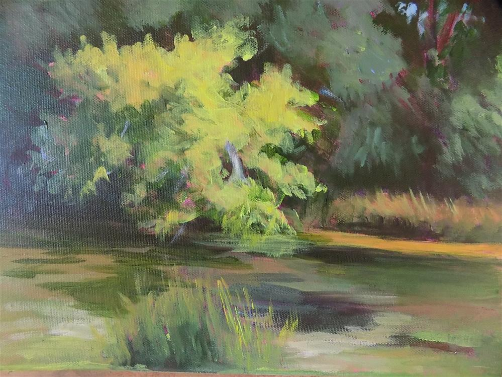 """Potter's Creek"" original fine art by Joan Reive"