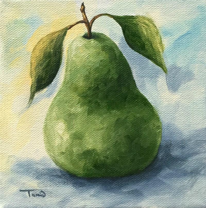 """Pear 2016-1"" original fine art by Torrie Smiley"