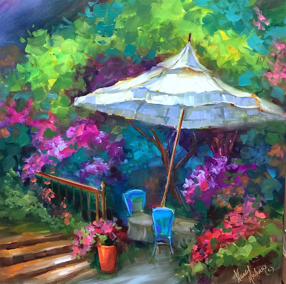 """French Aperitif - Nancy Medina Art Videos and Classes"" original fine art by Nancy Medina"