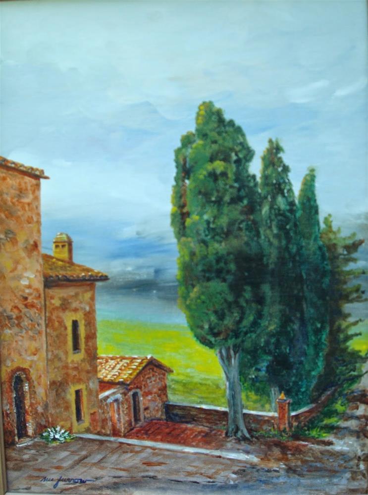 """Tuscany"" original fine art by Sue Furrow"