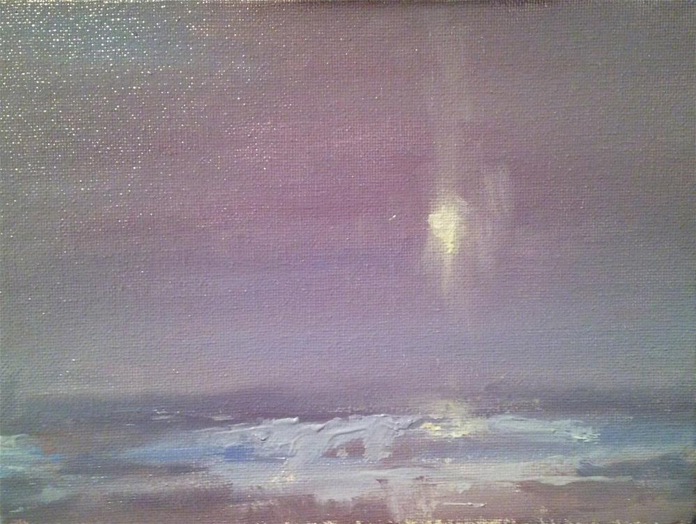 """Evening Tide"" original fine art by Fine Art of René"