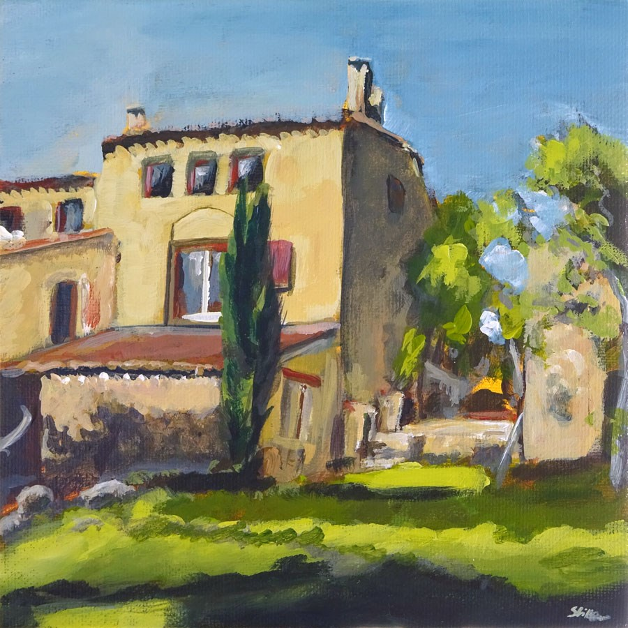 """1157 Le Catalan"" original fine art by Dietmar Stiller"