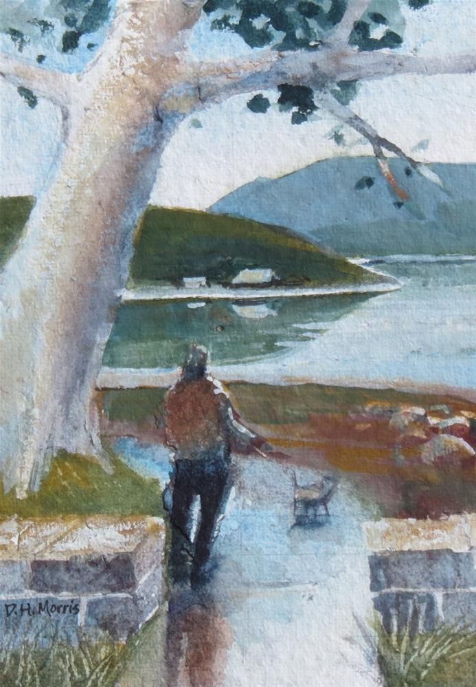 """Tranquil Waters"" original fine art by Dann Morris"
