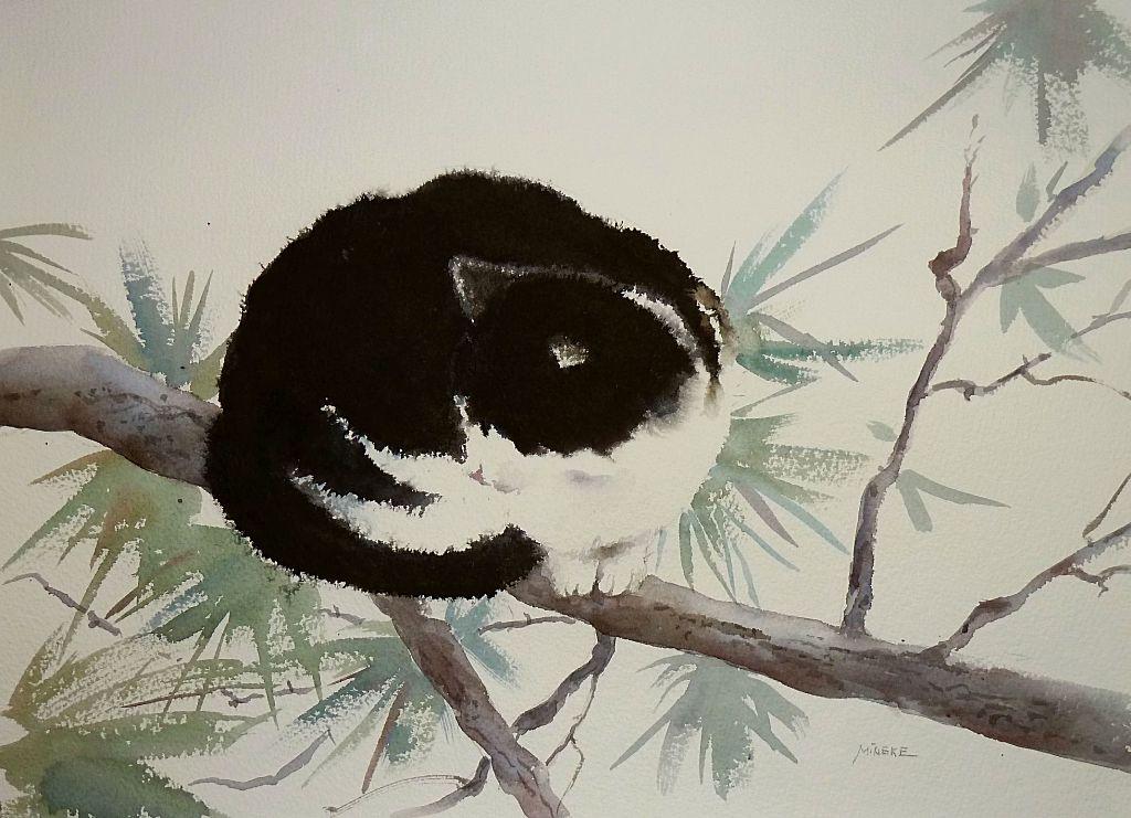 """Eliza"" original fine art by Mineke Reinders"