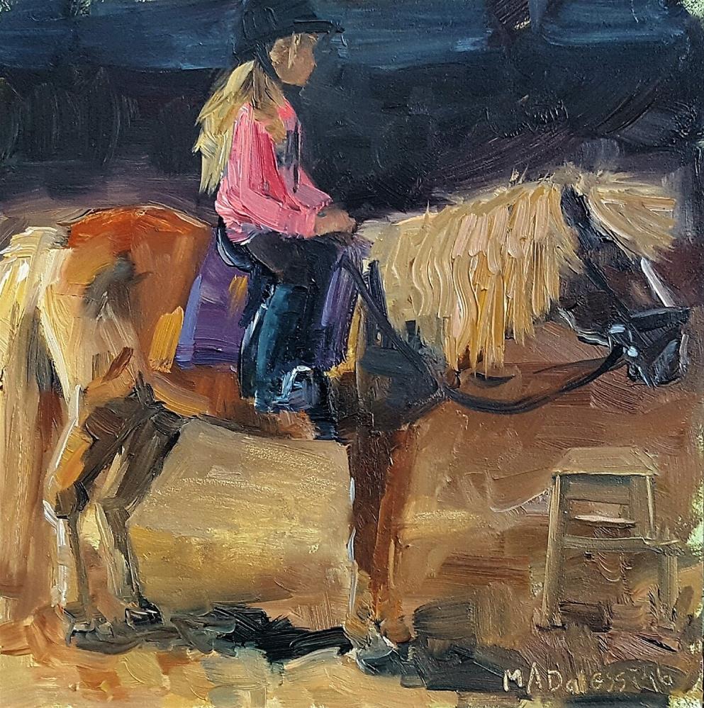 """""""There we go"""" original fine art by Miranda Dalessi"""