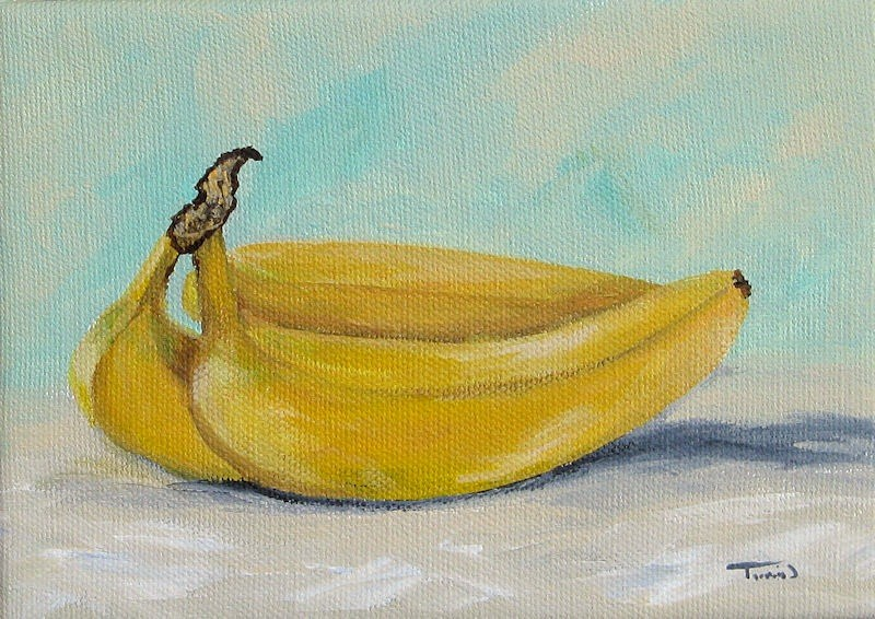"""Bananas III"" original fine art by Torrie Smiley"