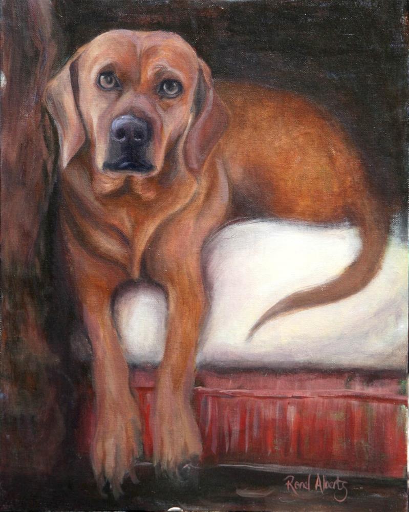 """Katryn"" original fine art by Ronel Alberts"