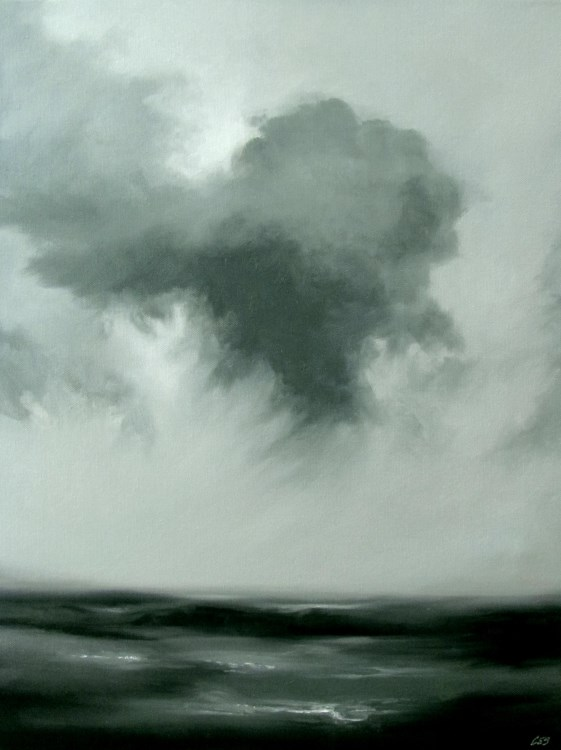 """Saving Gray"" original fine art by ~ces~ Christine E. S. Code"