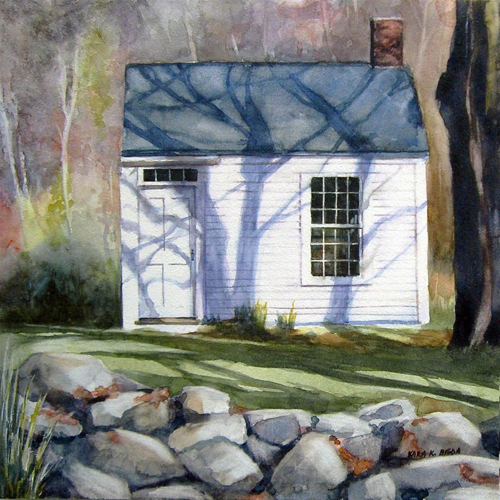 """Autumn Studio"" original fine art by Kara K. Bigda"