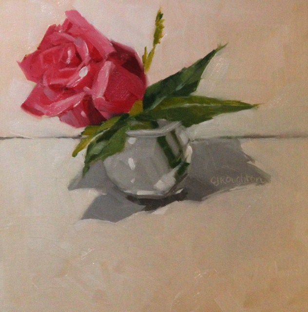 """Mother's Count Roses"" original fine art by C J Roughton"