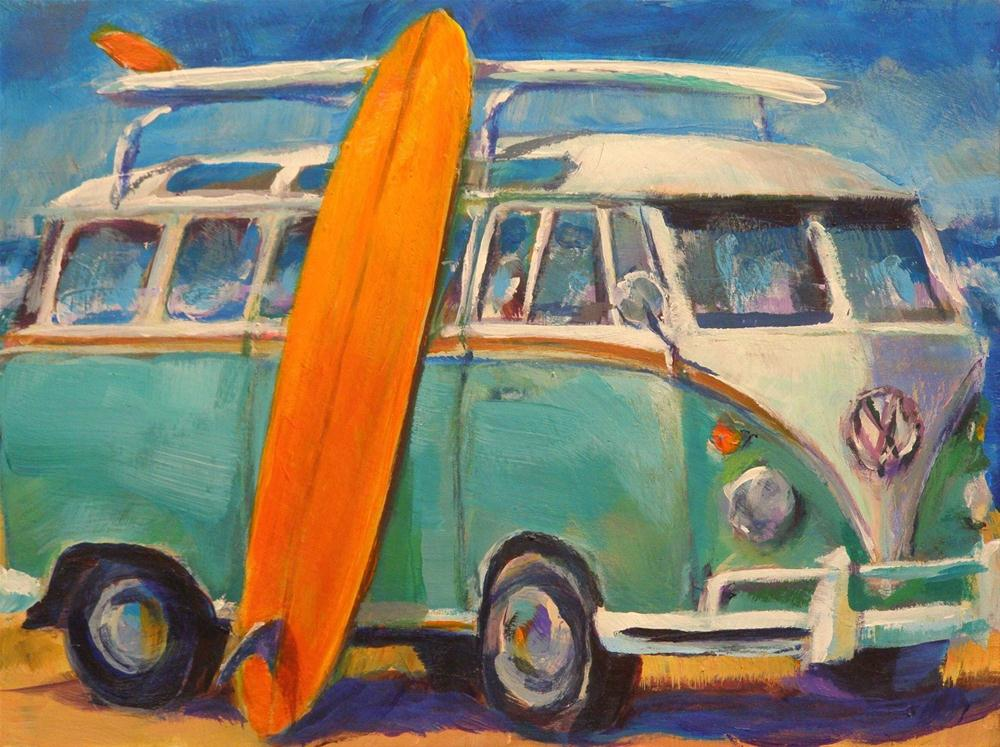 """CALIFORNIA DREAMIN'"" original fine art by Brian Cameron"